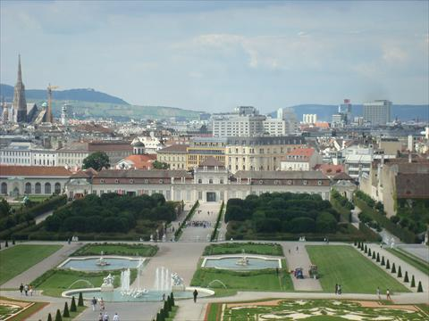 Vienna from Upper Belvedere
