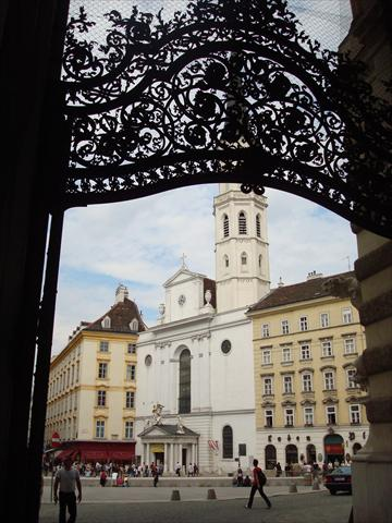 Looking Down Kohlmarkt