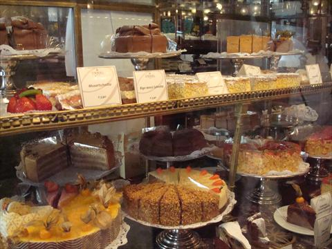 Confections at Demel