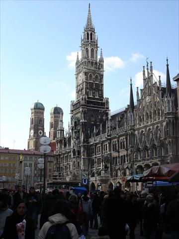 City Hall at Marienplatz