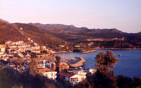 View onto Kas