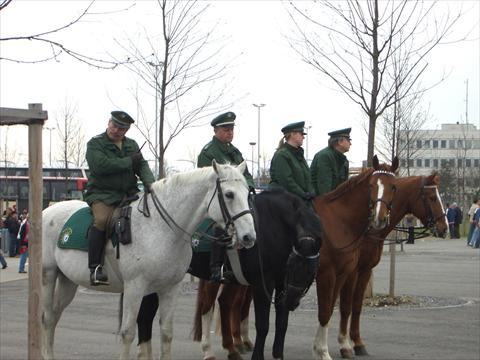 Police on horses