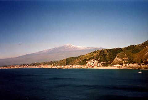 Vulcano from a distance