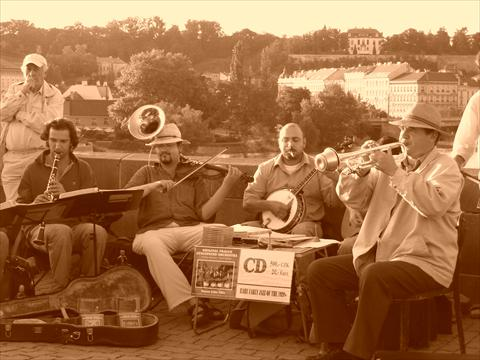 orchestra on the bridge