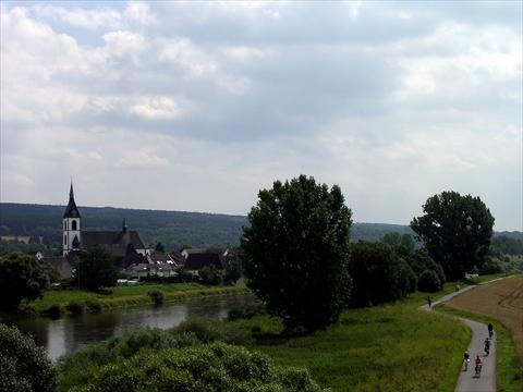 Along the river Weser