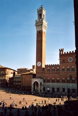 Piazza and tower