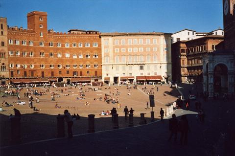 Famous piazza