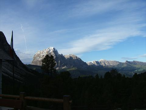 View from the Regensburger Hut