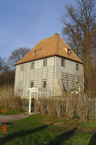 Garden house from J.W.v.Goethe