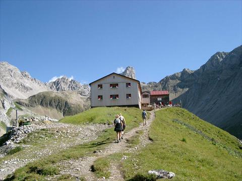 The Memminger Hut