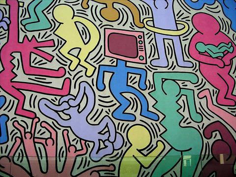 Keith Harring Wall